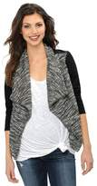 A Pea in the Pod Drape Front Ponte Maternity Jacket