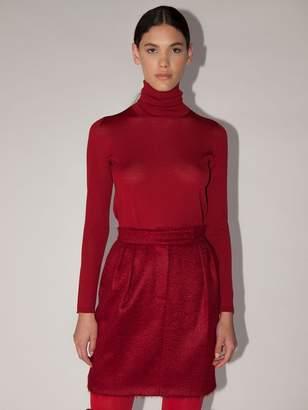 Max Mara Lvr Exclusive Kipur Wool Knit Sweater