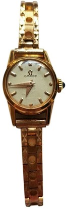 Omega White Gold plated Watches