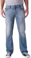 Seven7 Men's Thick Stitch Back Flap Straight Jeans