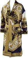 Versace I Love Baroque Printed Silk Bathrobe