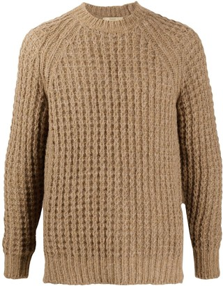 Roberto Collina Waffle-Knit Relaxed-Fit Jumper