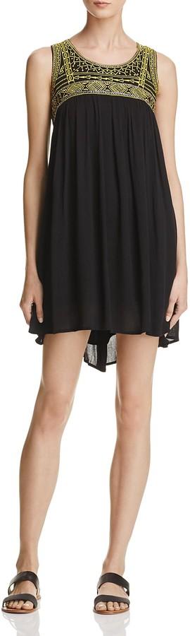 Freeway Bead-Embellished Embroidered Dress