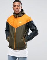 Nike Windbreaker In Grey 727324-347