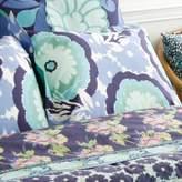 Amy Butler Dream Daisy Duvet King Sham (Blue)