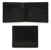Dents Black Stitch Detail Wallet In A Gift Box