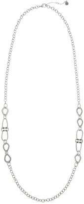 The Sak Double Knot Casting Long Necklace