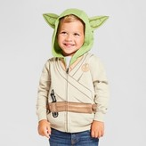 Star Wars Toddler Boy's Yoda Costume Hoodie - White