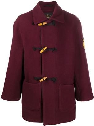 Vivienne Westwood Logo-Patch Duffle Coat