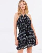 The Kooples St Remi Print Ruffled Skirt