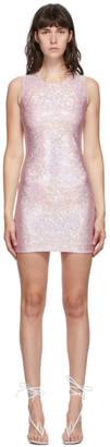 Saks Potts Pink Shimmer Vision Dress