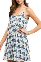 Entro Blue Palms Dress