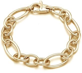Catena Bracelet Sterling Silver Yellow Gold