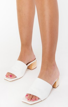 Show Me Your Mumu James Smith Sicily Mule Heels
