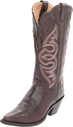 """Justin Boots Women's Western Fashion 13"""" Boot Narrow Square Toe Leather Outsole"""