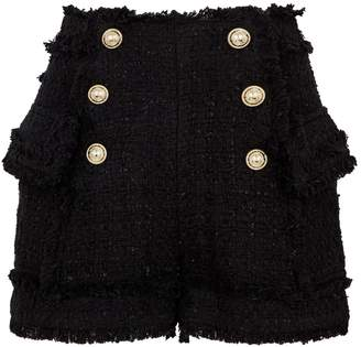 Balmain Tweed Shorts