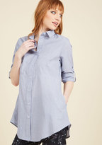 Button-Up Boss Tunic in XL