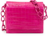 Nancy Gonzalez Small Crocodile Chain Crossbody Bag