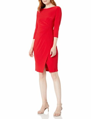 Taylor Dresses Women's Elbow Sleeve Career Dress
