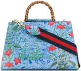 Gucci Nymphaea flora tote bag - women - Leather - One Size