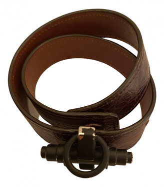 Givenchy Obsedia Brown Leather Jewellery