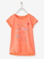 Vertbaudet Girls Alphabet Print T-shirt