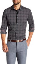 Ganesh Checkered Modern Fit Stretch Shirt