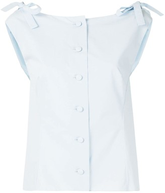 DELPOZO Bow Detail Shirt