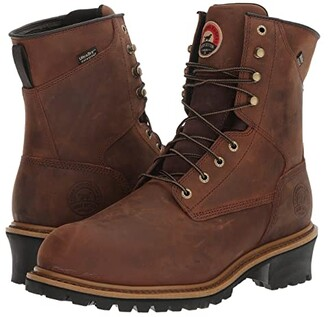 Irish Setter Mesabi 8 Steel Toe Insulated (Brown) Men's Work Boots