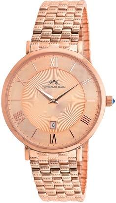 Porsamo Bleu Women's Antonia Swarovski Crystal Accented Quartz Watch, 40mm