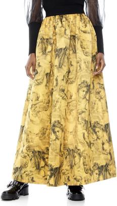 Alice + Olivia Tina Long Ball Gown Skirt