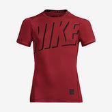 Nike Pro HyperCool Big Kids' (Boys') Short Sleeve Training Top