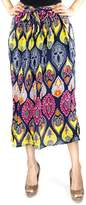 Fashion Pickle Print Long Skirt