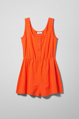 Weekday Dinah Jumpsuit - Orange