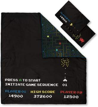 South Shore DreamIt Black 3-Piece Comforter and Pillowcase Video Game Set