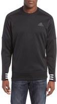 adidas Men's Regular Fit Sport Id Bonded Fleece Crewneck Shirt