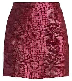 Croco Andamane Women's Bertha Print Mini Skirt
