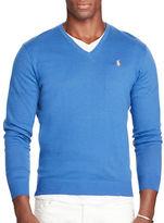 Polo Ralph Lauren Cotton-Cashmere V-Neck Sweater