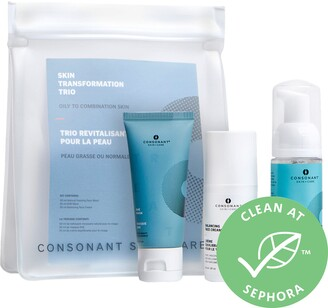 Consonant - Skin Transformation Trio for Oily to Combo Skin