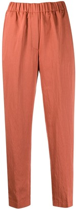 Forte Forte Cropped Straight Leg Trousers