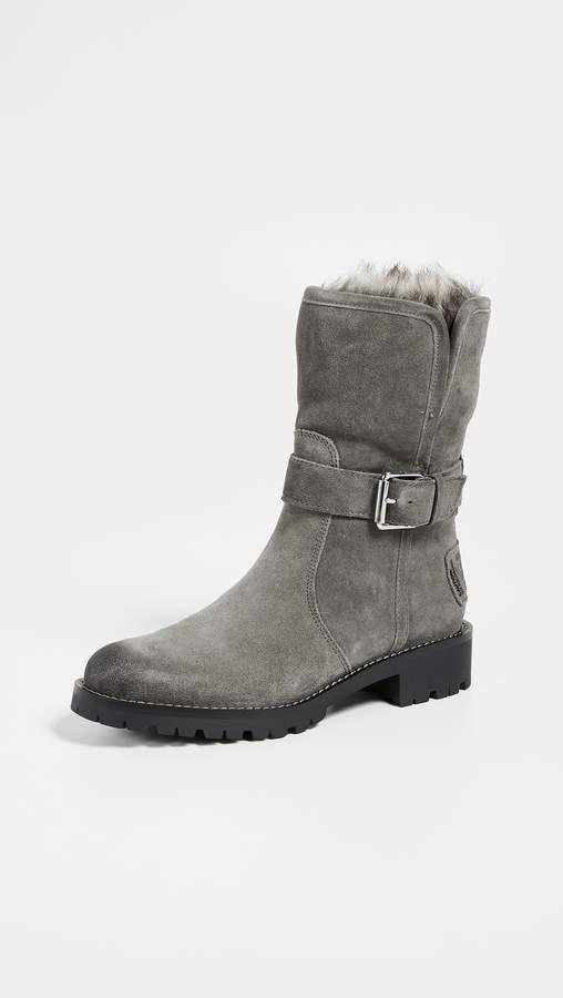 b1d93be50 Sam Edelman Grey Boots - ShopStyle