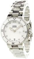 Oris 'Aquis Date Diamonds' analog watch