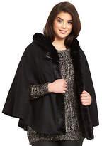 So Fabulous! So Fabulous Faux Fur Trim Cape