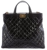 Chanel Quilted Boy Tote
