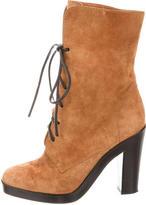 Reed Krakoff Suede Platform Ankle Boots