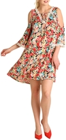 Umgee USA Cold Shouldered Dress
