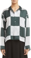 Toga Women's Inner Check Print Blouse