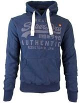 Superdry Vintage Authentic Tonal Hood blue