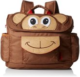 Bixbee Boy's Brown Animal Kids Backpack