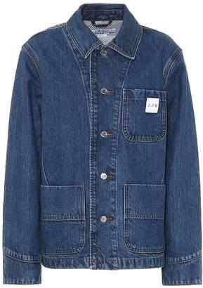 A.P.C. x Carhartt denim jacket